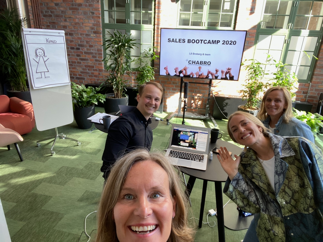 Sales Bootcamp Norrsken house